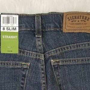 Levi's Bottoms - NWT Levi's Straight Jeans Boys Size 8 Slim